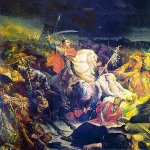 Battle of Kulikovo Day in Russia