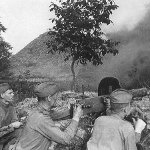 Victory over Germany in the Battle of Kursk in Russia