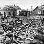 Victory in the Battle of Stalingrad in Russia