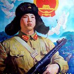 Learn from Lei Feng Day in China