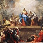 Pentecost in Western Christianity and Armenia
