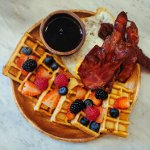 National Waffle Day in the US