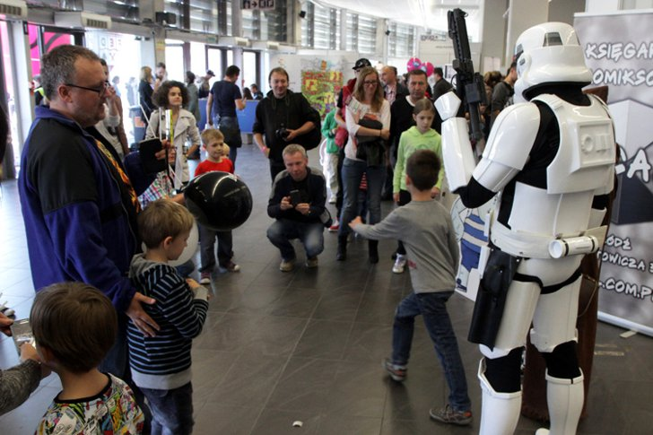 International Festival of Comics and Games in Lodz