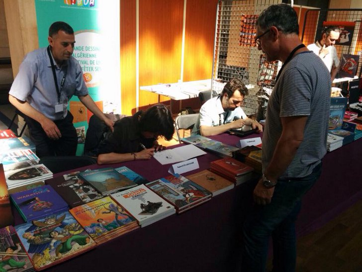 Algeria International Festival of Comics
