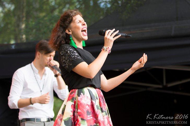 приехала джазовый фестиваль в саулкрасти в латвии в 2016 Полина